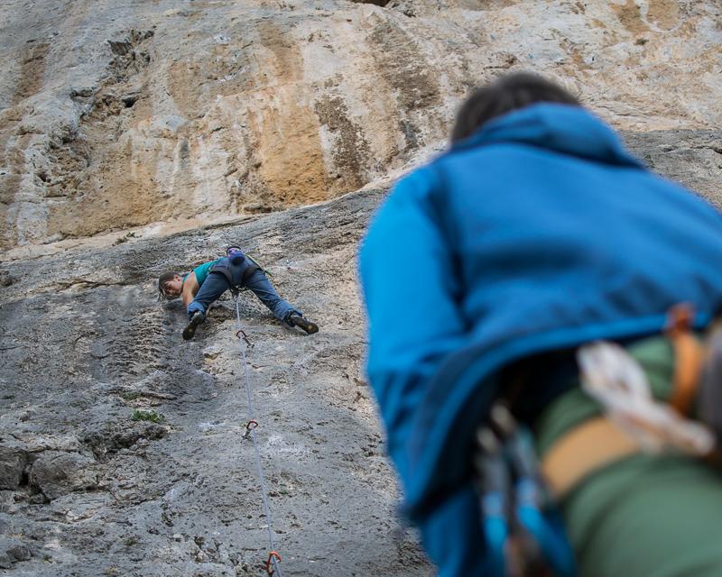 Sportkletterkurs für Anfänger Steiermark Alpinschule BERGPULS