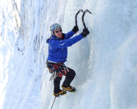 Eisklettern mit Bergführer   Weltweit