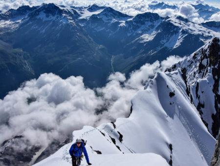 Ortler Hintergrat Besteigung | mit Bergführer