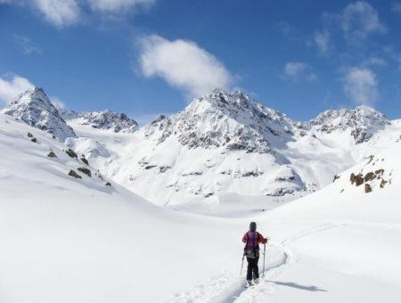Skidurchquerung Silvretta   mit Bergführer