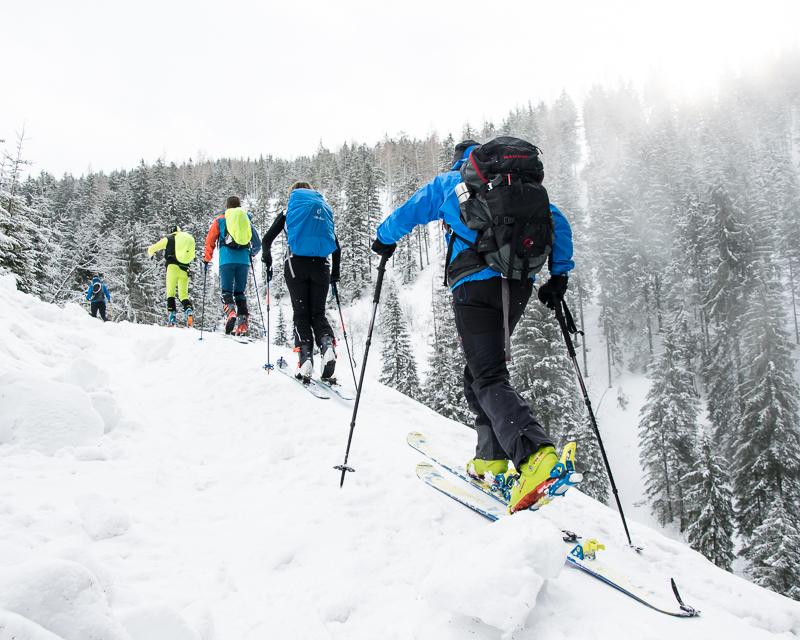 Lawinenkurs für Fortgeschrittene-Alpinschule Bergpuls