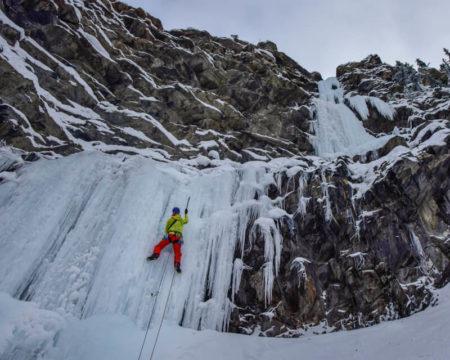 Bergrettungs-Techniken   Eisklettern
