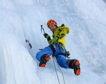 Eisklettern mit Bergführer   Österreich