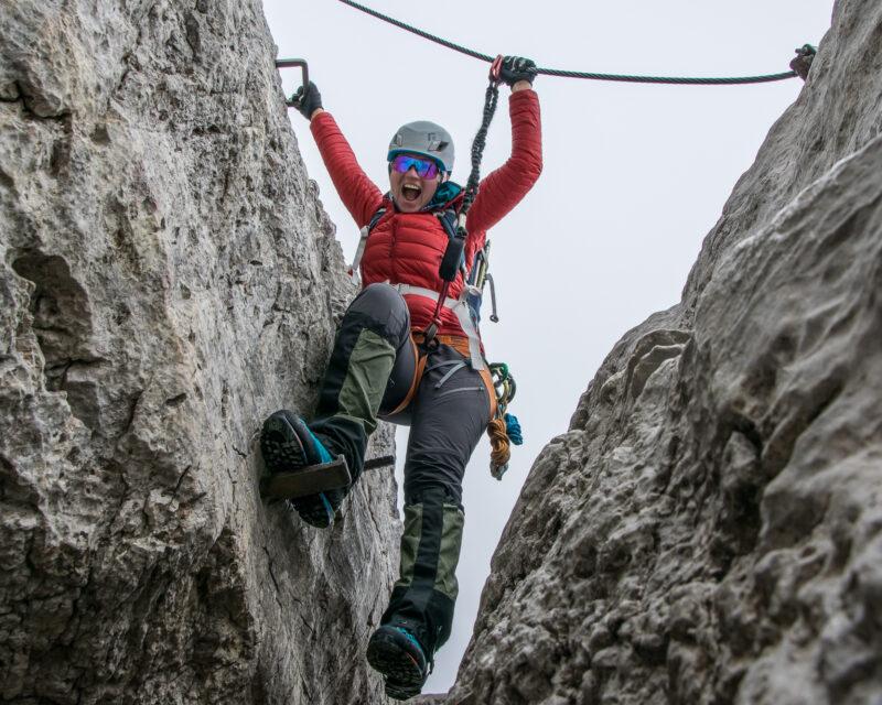 Klettersteigkurs für Anfänger, Steiermark Gesäuse Österreich, Alpinschule bergpuls7
