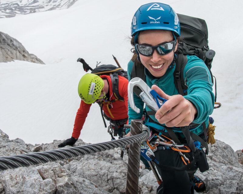 Klettersteigkurs für Anfänger, Steiermark Gesäuse Österreich, Alpinschule bergpuls9