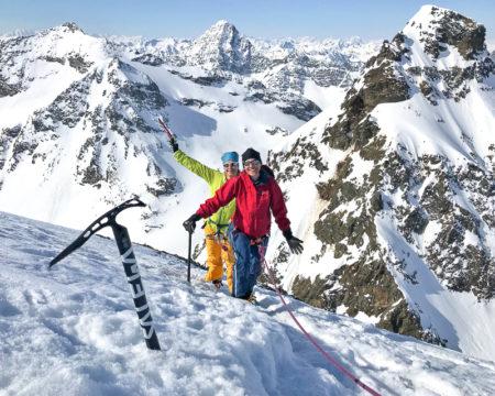Silvretta Skidurchquerung   mit Bergführer