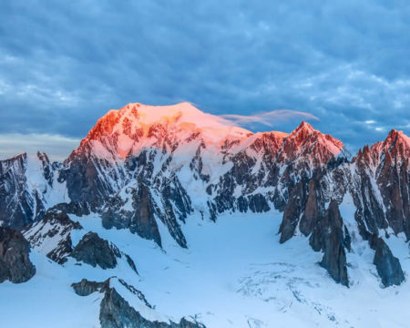 Skitour Mont Blanc   mit Bergführer