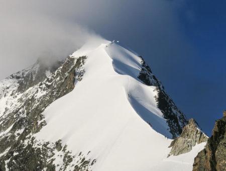 Biancograt Piz Bernina + Piz Palü | mit Bergführer