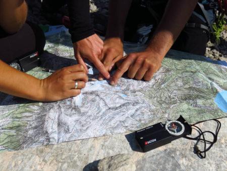Orientierungskurs mit Karte & Kompass
