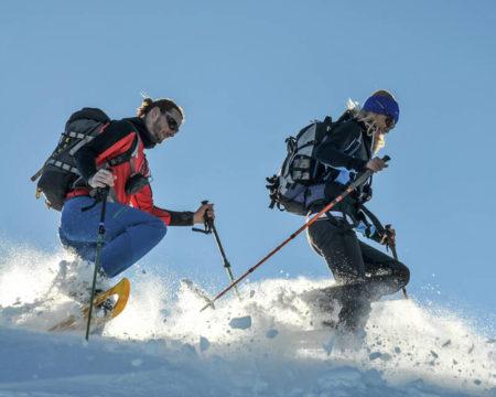 Schneeschuhwandern im Gesäuse   Steiermark