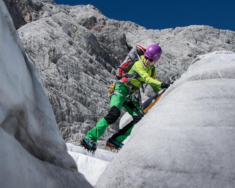 Hochtourenkurs Gletscherkurs für Anfänger Alpinschule BERGPULS