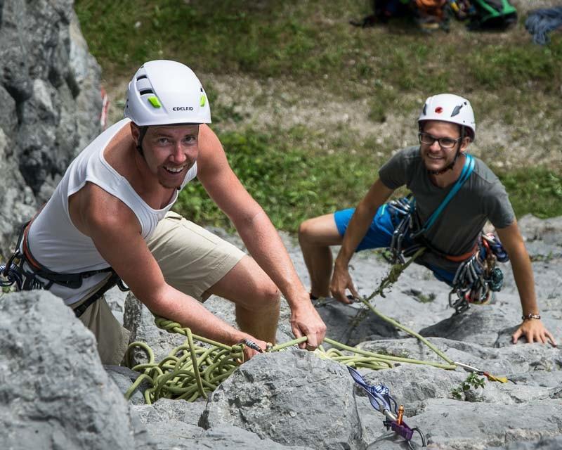 Privater Kletterkurs Alpinschule BERGPULS