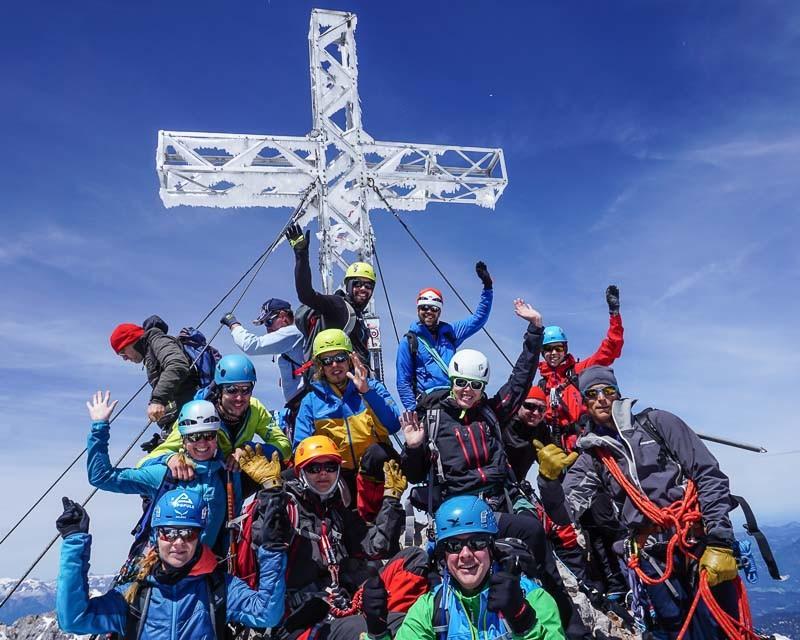 Firmenevents Teambuilding Gletscher Dachstein Alpinschule BERGPULS