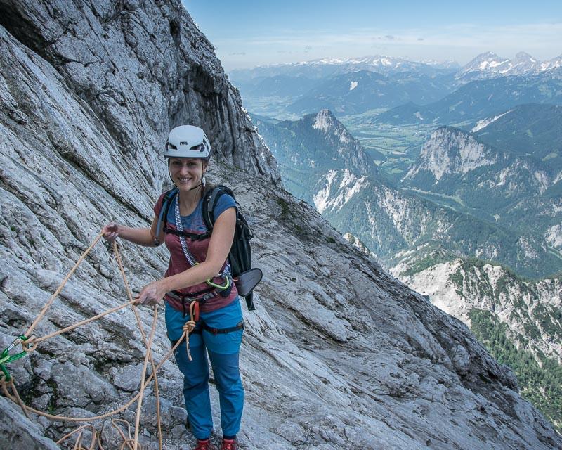Jahn Zimmer Hochtor Nordwand mit Bergführer-ALPINSCHULE BERGPULS
