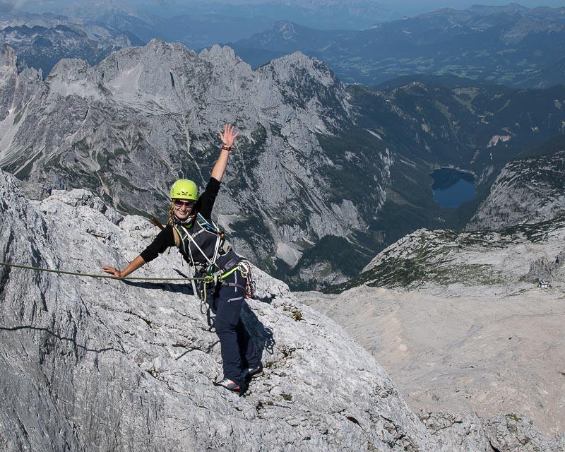 Niederer Dacchstein Nordwest Grat_ Nordwestgrat_mit Bergführer_Alpinschule_Bergpuls