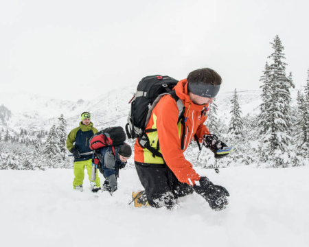 Lawinen-Notfall Training
