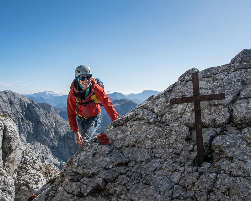 Gesäuse-Überschreitung_Kleiner Ödstein-Ödstein-Hoichtor-Dachl-peternschartenkopf-Planspitze_mit Bergführer_Alpinschule_Bergpuls_Steiermark2