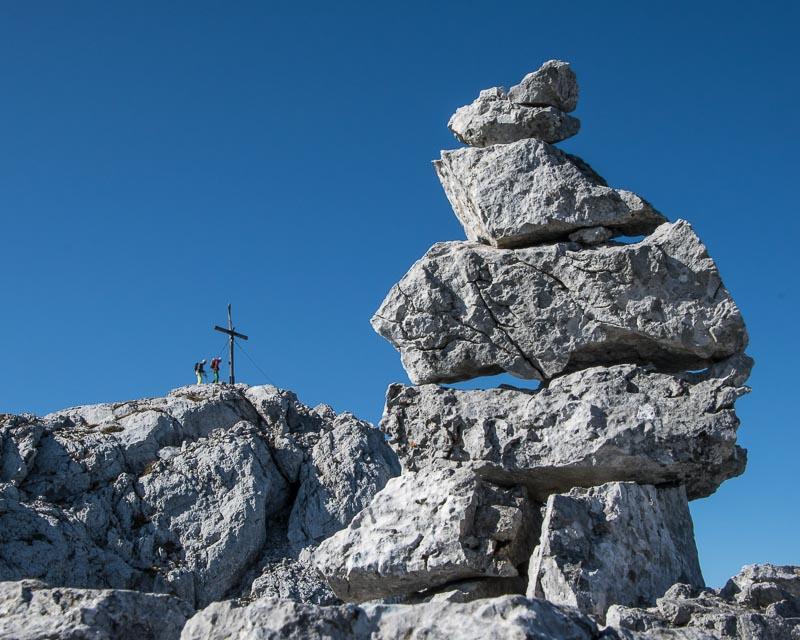 Gesäuse-Überschreitung_Kleiner Ödstein-Ödstein-Hoichtor-Dachl-peternschartenkopf-Planspitze_mit Bergführer_Alpinschule_Bergpuls_Steiermark4