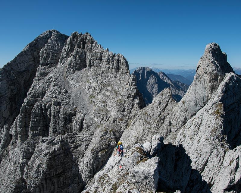 Gesäuse-Überschreitung_Kleiner Ödstein-Ödstein-Hoichtor-Dachl-peternschartenkopf-Planspitze_mit Bergführer_Alpinschule_Bergpuls_Steiermark6