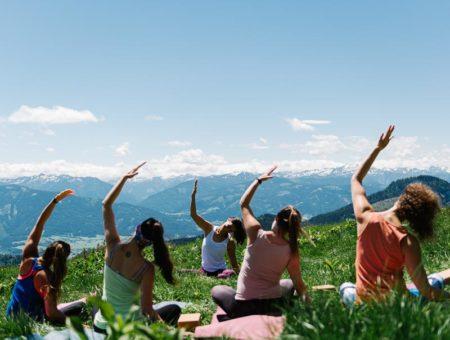 Forrest Yoga und Wandern – Gesäuse