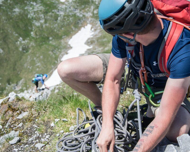 Alpinkletterkurs für Anfänger, Steiermark Kletterkurs_Alpinschule BERGPULS