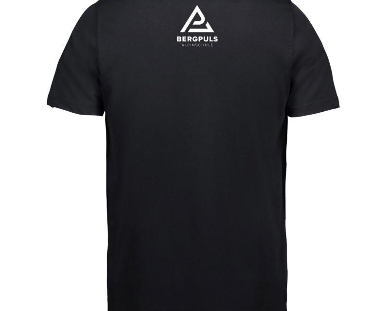 Herren T-Shirt Bergpuls Weiß Rückseite