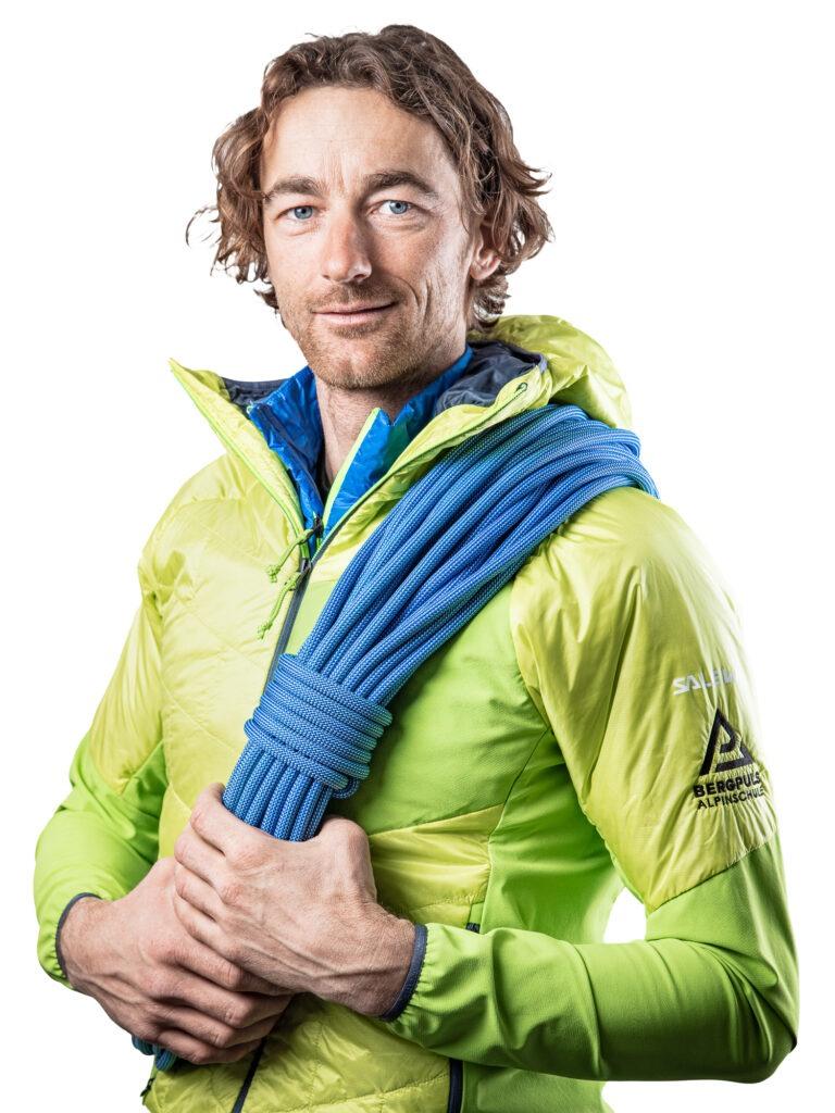 René Guhl, Msc   Staatlich geprüfter Berg- und Skiführer   Alpinschule Bergpuls