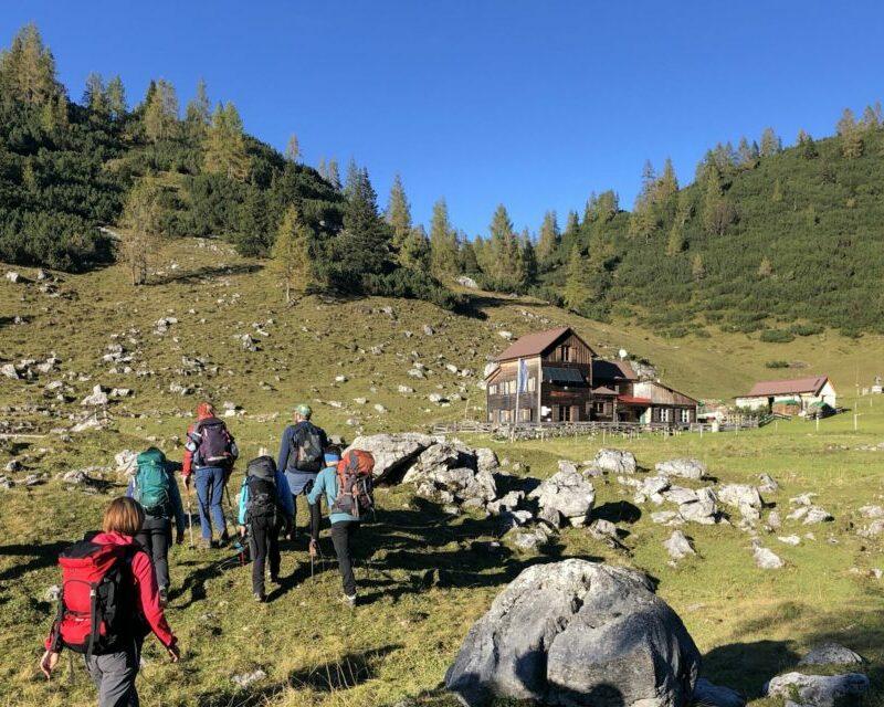 Bergwanderführer Christian Wirth, Wandern Totes Gebirge, Geführte Wanderung_Alpinschule BERGPULS_2